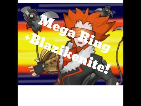 Opening a Pokemon XY Mega Ring and Blazikenite! (Ebay Buy)