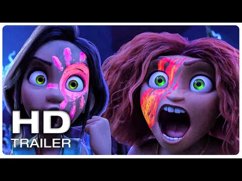 """Movie Trailer : THE CROODS 2 A NEW AGE """"Thunder Sisters"""" Trailer (NEW 2020) Animated Movie HD"""