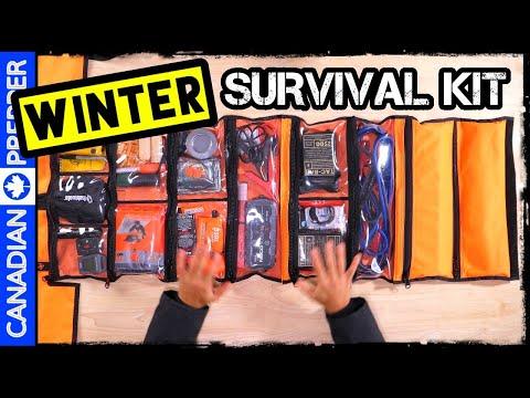 Winter Vehicle Survival/ Emergency Kit