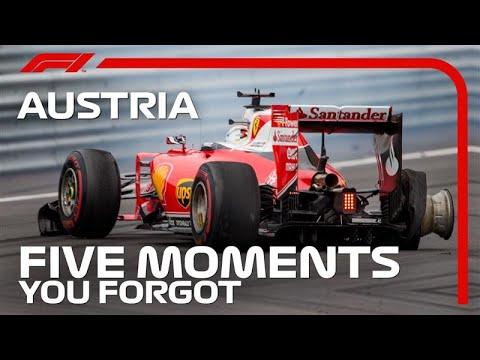 5 Moments You Forgot | Austrian Grand Prix