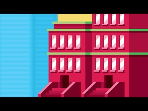 Illustrator Tutorial - How to Draw a BUILDING Step by Step
