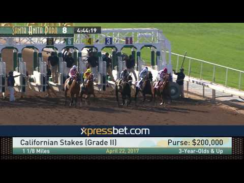 Californian Stakes (Gr. II) - April 22, 2017