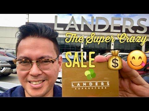 Landers Superstore Super Crazy Sale Tour EDSA Balintawak Quezon City
