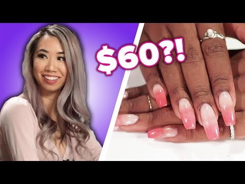 Nail Artists Guess The Cost Of Manicures • Part 2