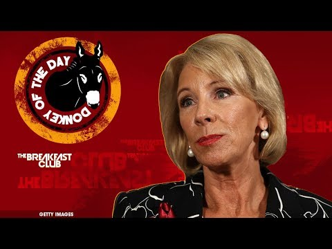 connectYoutube - Secretary of Education Betsy DeVos Says She Hasn't 'Intentionally' Visited Underperforming Schools