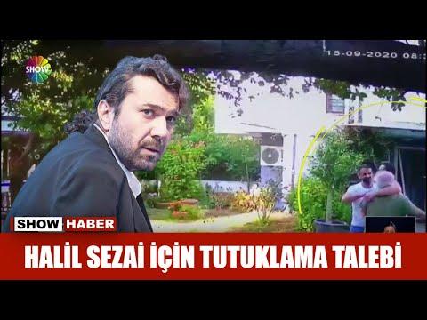 Halil Sezai için tutuklama talebi