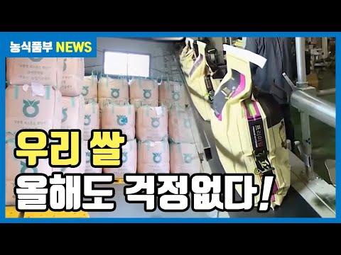 '쌀' 올해도 이상 '무' | 쌀 수급 안정 대책