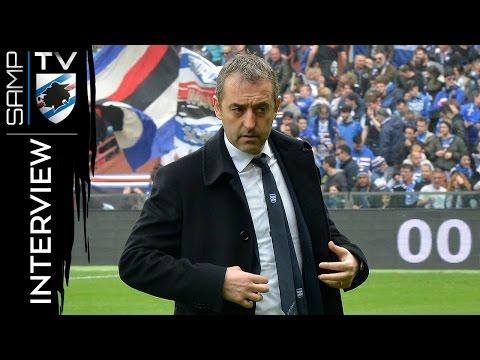 Sampdoria-Juventus, Giampaolo: «Orgoglioso di questo gruppo»