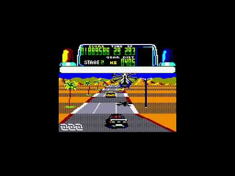 Chase HQ - Amstrad CPC Longplay