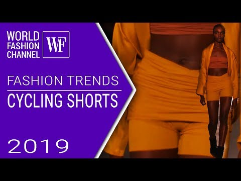 Cycling shorts | Fashion trends spring-summer 2019