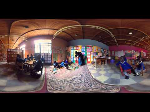 """""""360 Grad"""" Virtuelle Reise durchs SOS-Kinderdorf Nairobi - 10-jährige Nala zeigt Ihre Welt"""