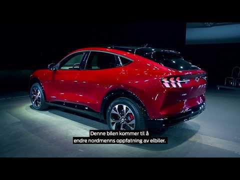 Her er grunnene til at Mustang Mach-E vil sette en ny standard i elbilsegmentet!