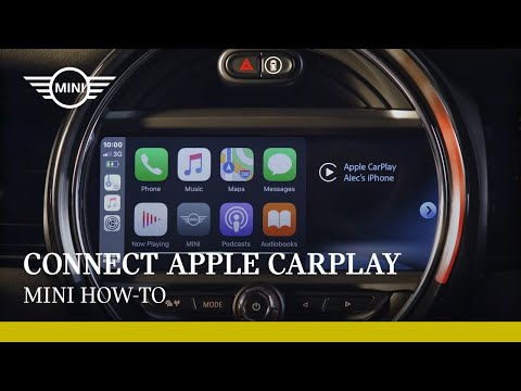 How to connect Apple CarPlay in your MINI |  MINI How-To