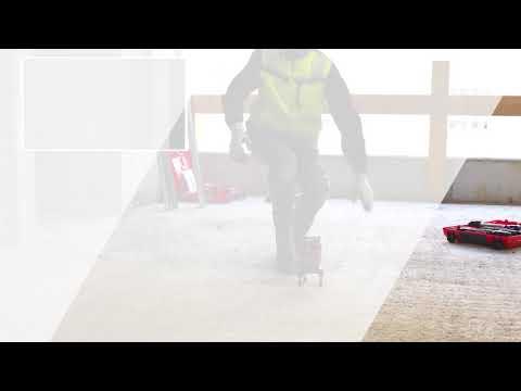 Hvordan sette opp Hilti PM40 Multilaser for bruk på vegg