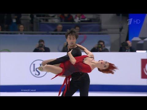 Тиффани Загорски - Джонатан Гурейро. Произвольный танец. Чемпионат Европы по фигурному катанию