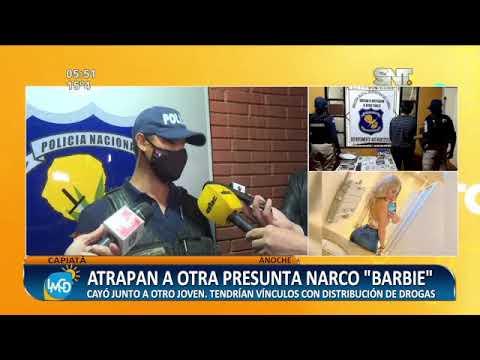 Atrapan a otra presunta narco 'barbie' en Capiatá
