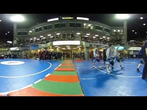 360-degree video: Montana State All-Class Wrestling Tournament