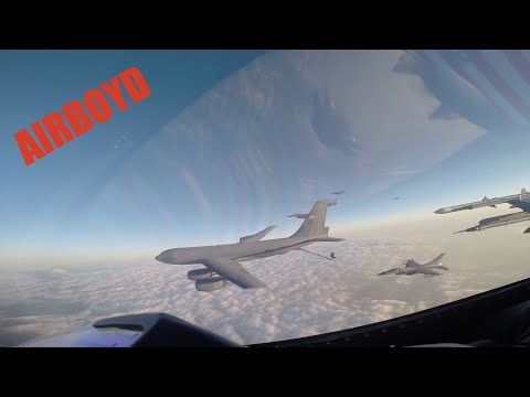 connectYoutube - Aerial Refueling Operations Out Of Kunsan Air Base