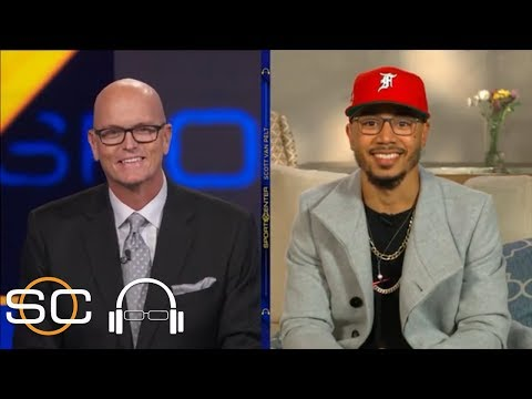 Mookie Betts on winning 2018 AL MVP, his parents' role in his career & being a father | SC with SVP