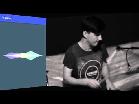 Horizon Sound Visualization featuring Zagreb