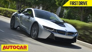 BMW i8 Hybrid Supercar   First Drive Video Review