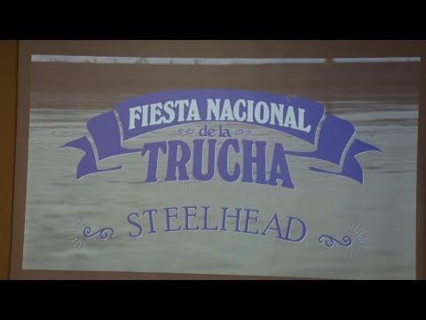 Se presentó oficialmente la 17ª Fiesta nacional de la trucha STEELHEAD