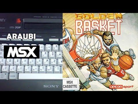 Golden Basket (Opera Soft, 1990) MSX [490] Walkthrough