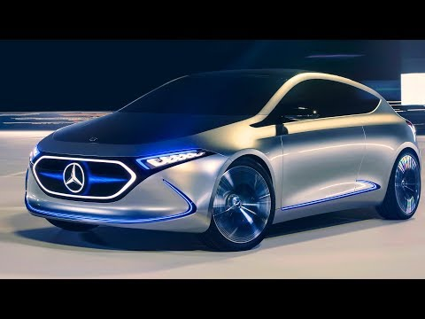 Mercedes-Benz EQA Concept ? The A-Class of the Future