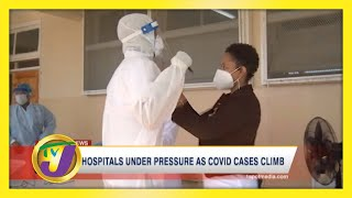 Covid Cases Climb as Several Hospitals in Red Zone - January 3 2021
