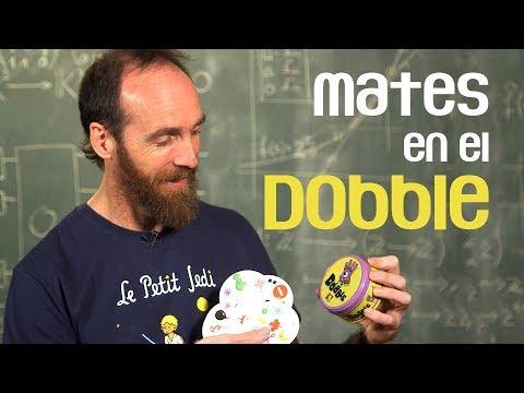 Las matemáticas del DOBBLE ¡Alucinante!
