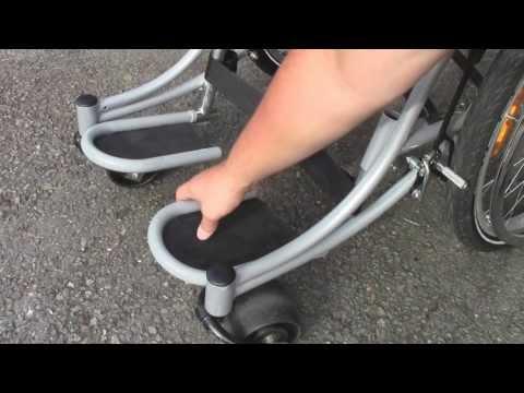 Wheelchair Footrest Design