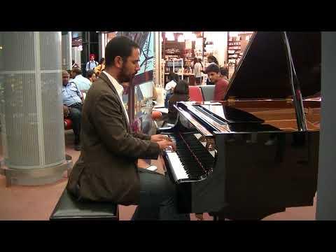 Piano at Mauritius Airport - Kaya Sime la lumier