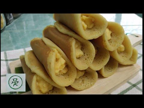 ขนมโตเกียวไส้ครีมคัสตาร์วนิลา-