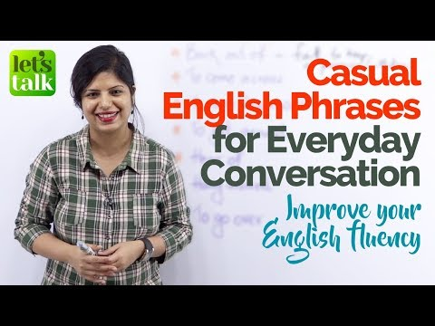 connectYoutube - Casual Everyday English Conversation Phrases to speak English fluently & confidently  (ESL Lesson)