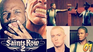 Saints Row 2 Gameplay Walkthrough Part 1 - Creation of Eminem