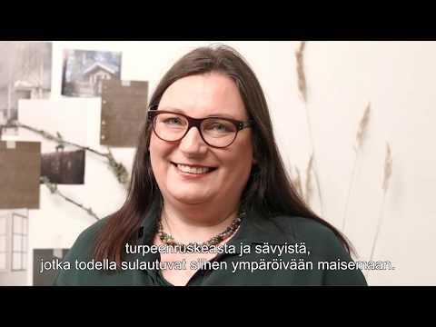 Tikkurilan Marika Raike antaa vinkkejä ulkovärin valintaan ja kertoo oman värisuosikkinsa.