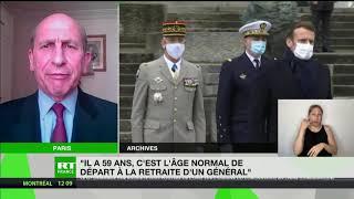 Dominique Trinquand revient sur la démission du chef d'état-major des armées