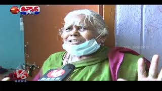 Public Suffer with Low Quality Double Bedroom Houses | V6 Teenmaar News - V6NEWSTELUGU