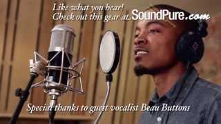 CharterOak SA538 Tube Mic and MPA-1 Stereo Preamp Recording Male Vocals