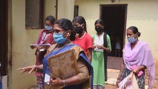 La precaria batalla contra el coronavirus de un millón de voluntarias indias