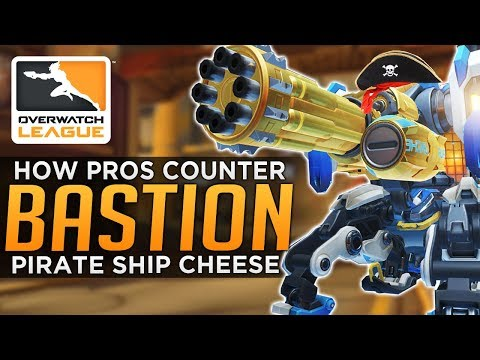 connectYoutube - Overwatch: How PROS Counter Bastion Cheese Comp!