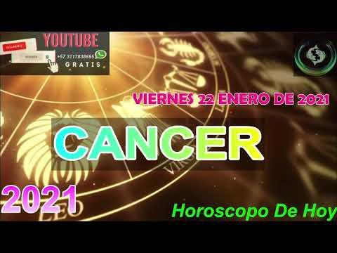 Horoscopo de hoy Cancer   Viernes 22 de Enero De 2021#horoscopodehoy
