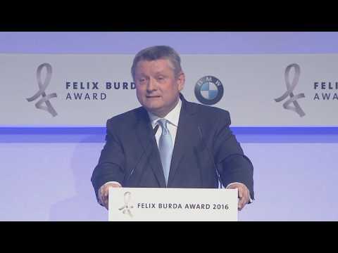 Hermann Gröhe eröffnet den Felix Burda Award 2016: Rede zum 15. Geburtstag der Felix Burda Stiftung