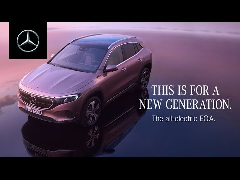 The All-Electric EQA | Created for a New Generation
