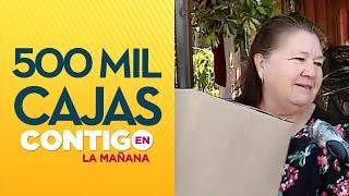 Comenzó la distribución de canasta de alimentos - Contigo en La Mañana
