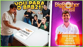 CONFESSEI PARA TODOS QUE VOU PARTICIPAR DO BIG BROTHER BRASIL 21!! ( BBB21 ) [ REZENDE EVIL ]