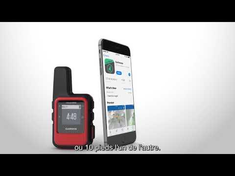 Garmin inReach - Couplage avec un appareil mobile