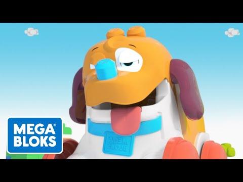 Müder Nachziehwelpe - Mega Bloks | Fisher-Price Deutsch | Kinderlieder | Cartoons für Kinder