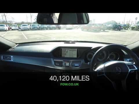 MERCEDES-BENZ E250 AMG SPORT CDI AUTO (2013) E250 Cdi Amg Sport 4dr 7g-tronic