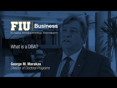 What is a DBA?